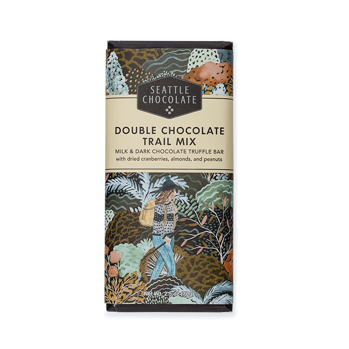 Double Chocolate Trail Mix Seattle Chocolate Bar