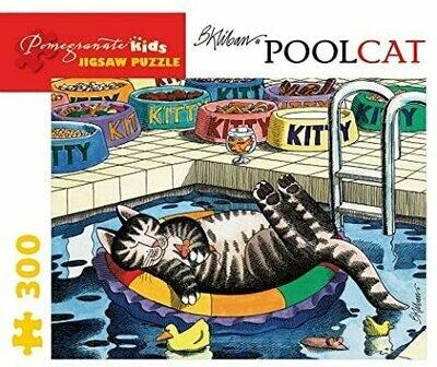 B. Kliban Pool Cat 300pc Puzzle