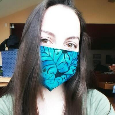 Batik Cloth Face Covering