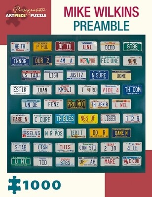 Mike Wilkins Preamble 1000pc Puzzle