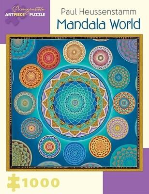 Paul Heussenstamm Mandala World 1000pc Puzzle - AA930