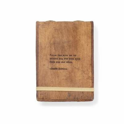 Joeseph Campbell 7x10 Leather Journal - Sugarboo