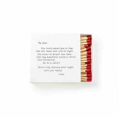 Match Box - My Dear, The Truth - Sugarboo