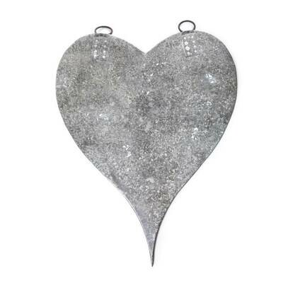 /BOX/ Large Zinc Heart with Magnets - Sugarboo