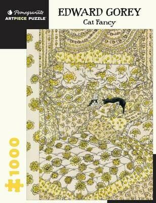 Edward Gorey: Cat Fancy 1000pc Puzzle