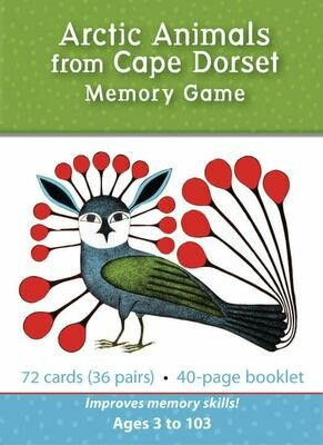 Arctic Animals from Cape Dorset - Memory Game