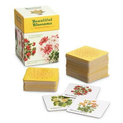 Beautiful Blossoms - Memory Game