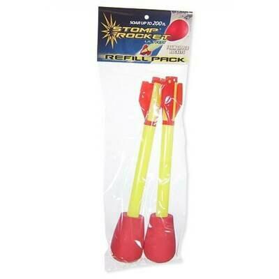 Stomp Rocket Ultra Rocket 2-pack Refill