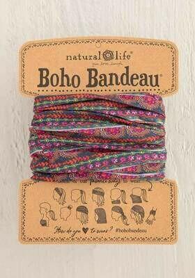 245 Multi Scalloped Boho Bandeau