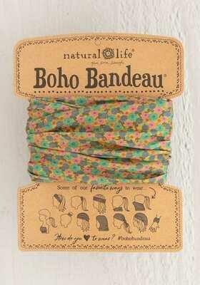 249 Mustard Floral Boho Bandeau