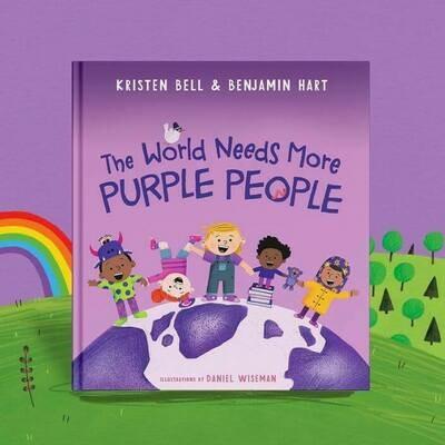 The World Needs More Purple People - Bell/Hart - HC