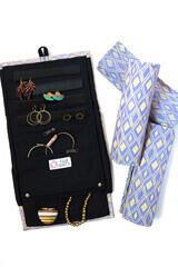 Wayfarer Lavender Jewelry Roll
