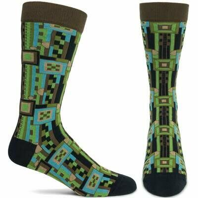 FLW Men's Saguaro - Brown Ozone Socks