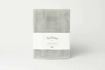 Binchotan Tea Towel - Natural