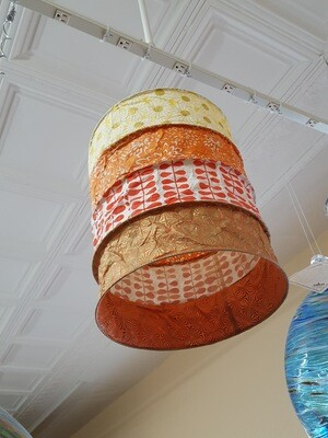 Yellow/Orange Paper Lantern