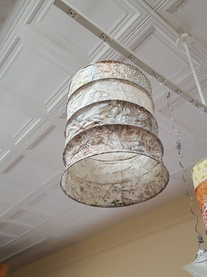 Metallic Cream Paper Lantern