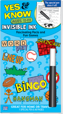 Yes & Know Invisible Ink - Magic Pen - 11-111
