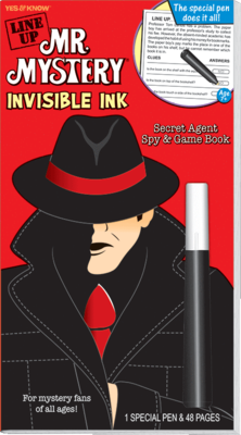 Line Up Mr. Mystery (Red) Invisible Ink - Magic Pen