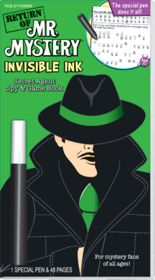 Return of Mr. Mystery (Green) Invisible Ink - Magic Pen