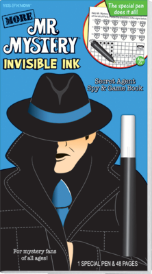 More Mr. Mystery (Blue) Invisible Ink - Magic Pen