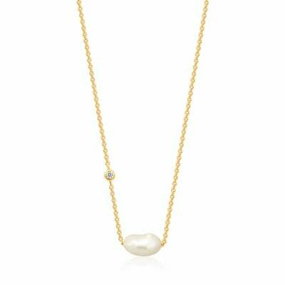 Ania Haie Pearl of Wisdom: Pearl Necklace - Gold