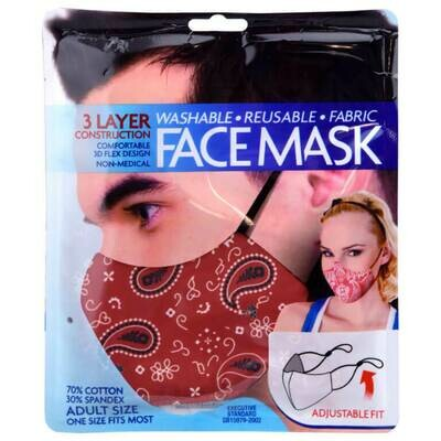 Shawshank Fabric Face Mask - Adult