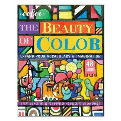 SALE: The Beauty of Color Flashcards - org. $15.99