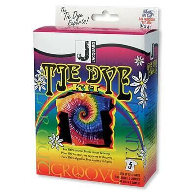 Jacquard Funky Groovy Tie-Dye Kit
