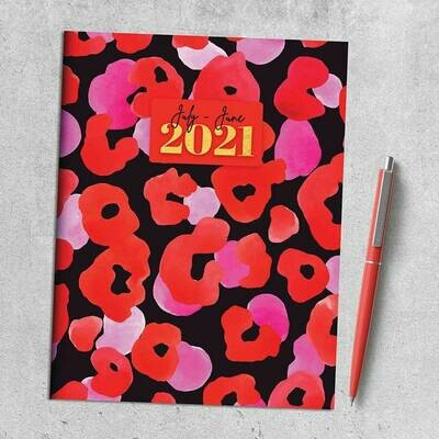 SALE: Poppy Go Lucky Academic Year July-June Planner 2020-21 - org. $6.99