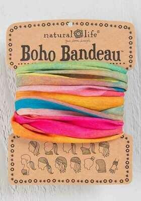 130 Hot Pink Rainbow Boho Bandeau