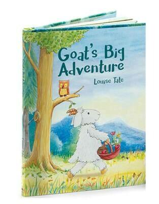 Jellycat Goat's Big Adventure - Jellycat - HC