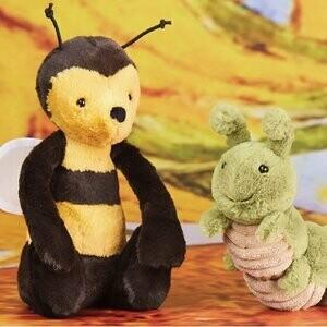 Jellycat Bashful Bee Med Plush