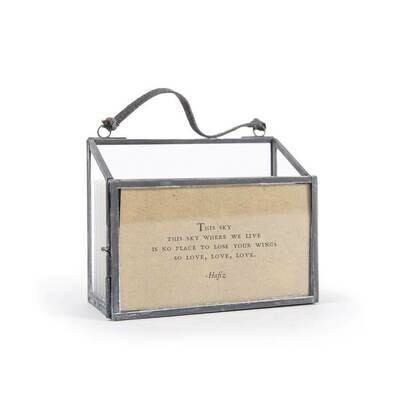 /BOX/Horizontal Picture Frame Holder 50 Gathered Thoughts - Sugarboo