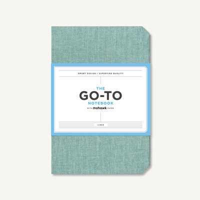The Mint Green Go-To Notebook with Lined Mohawk Paper