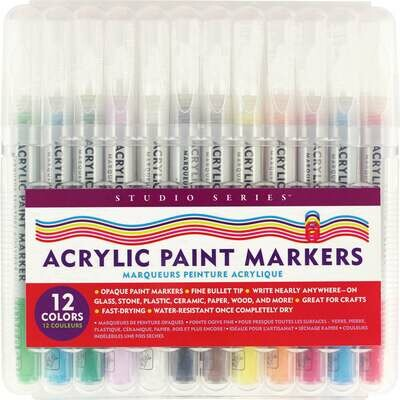PPP Studio Series Acrylic Paint Markers