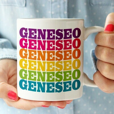 RSP Rainbow Geneseo Supergraphic Mug