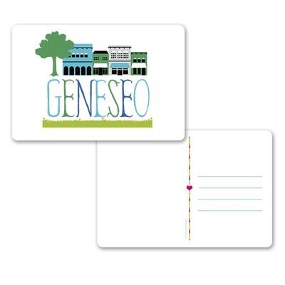 RSP My Town Geneseo Postcard