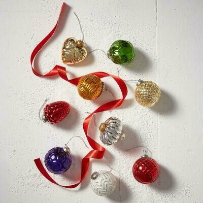 Serrv Hand Crafted Glass Ornament Collection - 33399