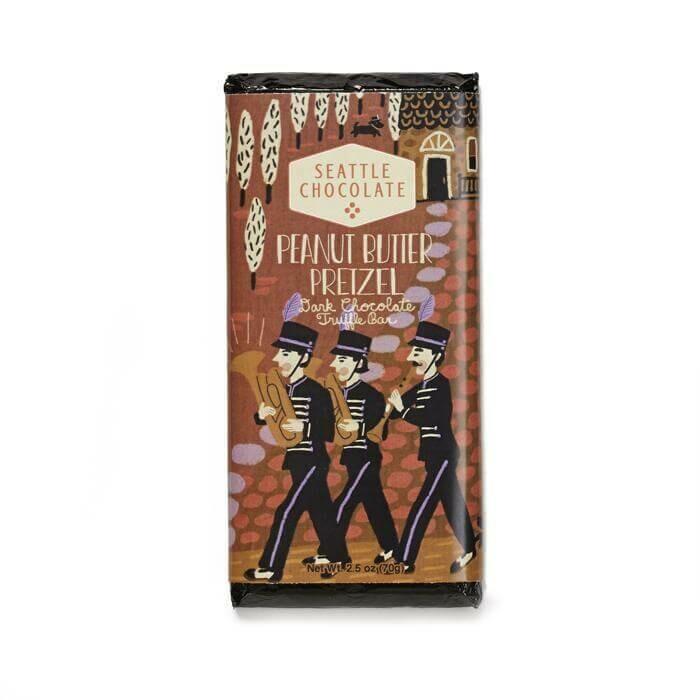 Peanut Butter Pretzel Seattle Chocolate Bar