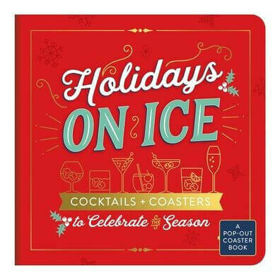 Holidays on Ice: Cocktails & Coasters - Galison - BB