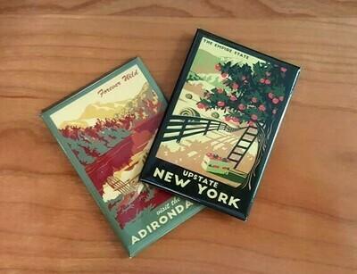 Upstate NY Lionheart Travel Magnet