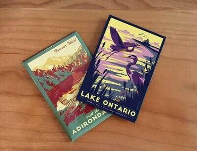 Lake Ontario Lionheart Travel Magnet
