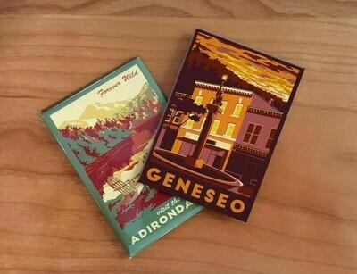 Geneseo Lionheart Travel Magnet