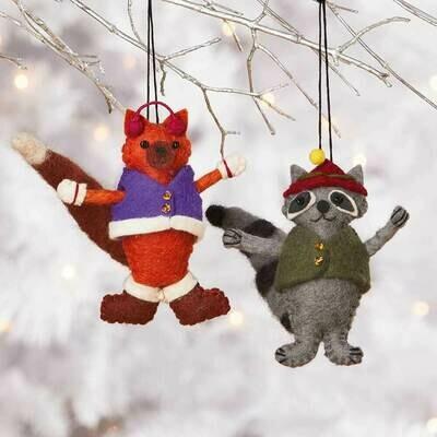 Serrv Fox Ornament - 65735