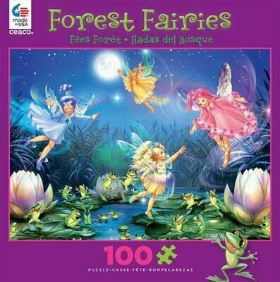 Forest Fairies 1671-3 Purple 100pc Puzzle