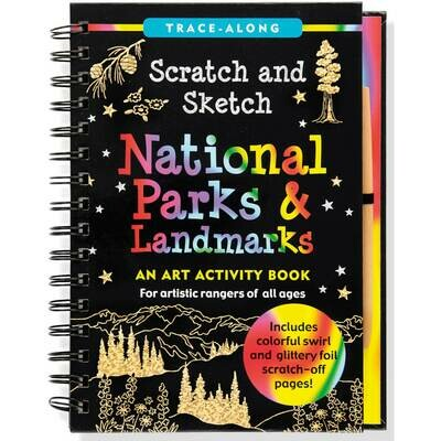PPP Scratch and Sketch National Parks and Landmarks