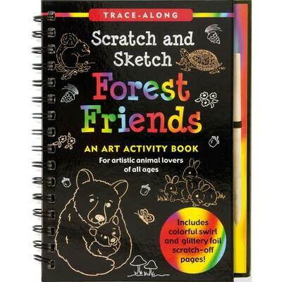 PPP Scratch and Sketch Forest Friends