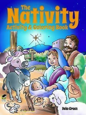 The Nativity Activity & Coloring Book