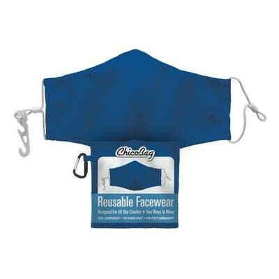 Chico Bag Blue 2-Layer Facewear Mask w/ Pouch