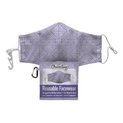 Chico Bag Lavender Moon 2-Layer Facewear Mask w/ Pouch